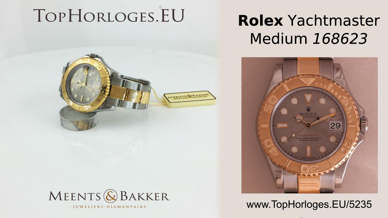 5b627a4a83b Rolex Yachtmaster Medium 168623 - TopHorloges.EU - Meents & Bakker